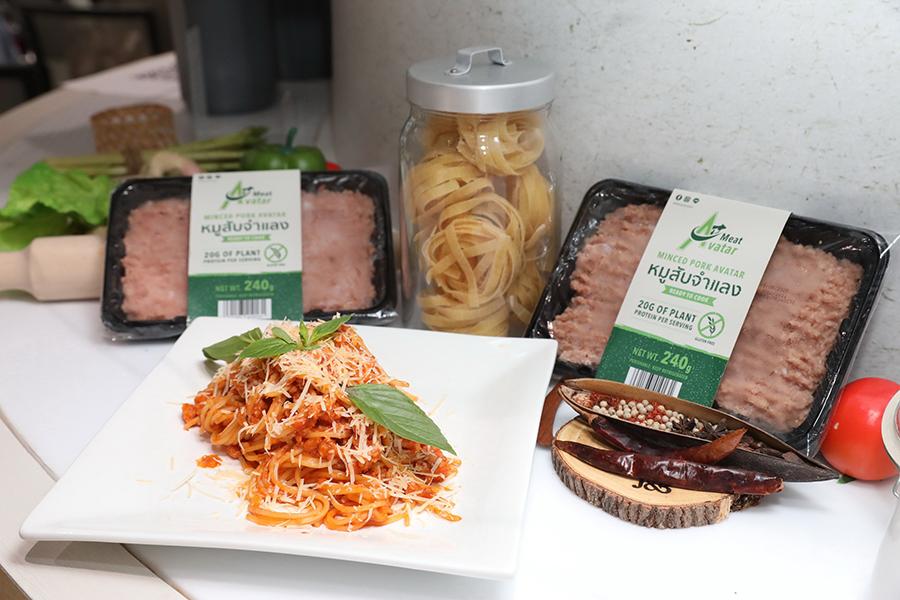 เมนูอาหารและผลิตภัณฑ์หมูสับจำแลง
