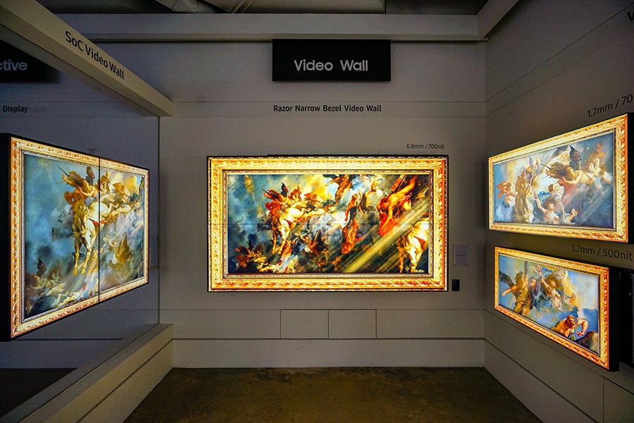 ซัมซุงทีวีเนรมิตบรรยากาศในรูปแบบ Interactive Museum.