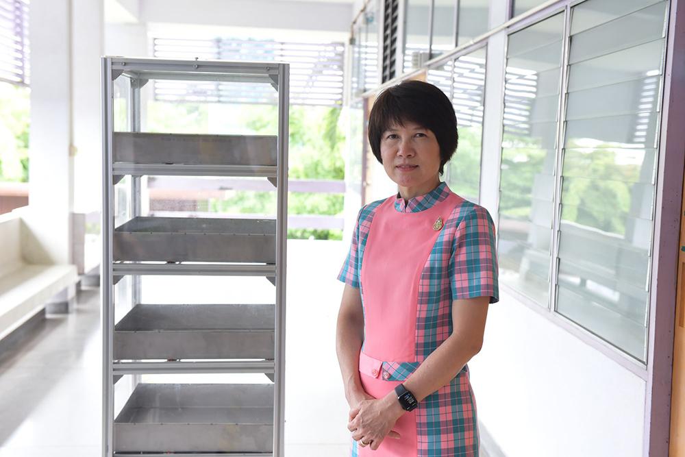 แพทย์หญิงจิรวรรณ อารยะพงษ์ ผู้อำนวยการโรงพยาบาลชลบุรี