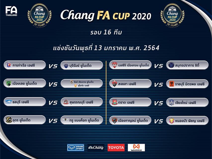 รอบ 16 ทีม Chang 2020