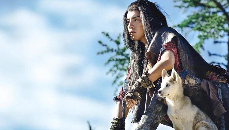 1.หวังต้าลู่กับลูกหมาป่า จากซีรีส์ The Wolf หมาป่าจอมราชันย์