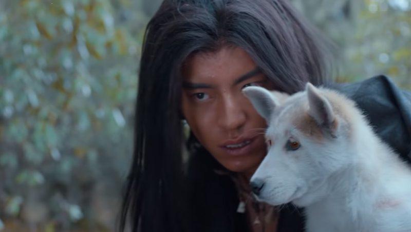 2.หวังต้าลู่กับลูกหมาป่า จากซีรีส์ The Wolf หมาป่าจอมราชันย์