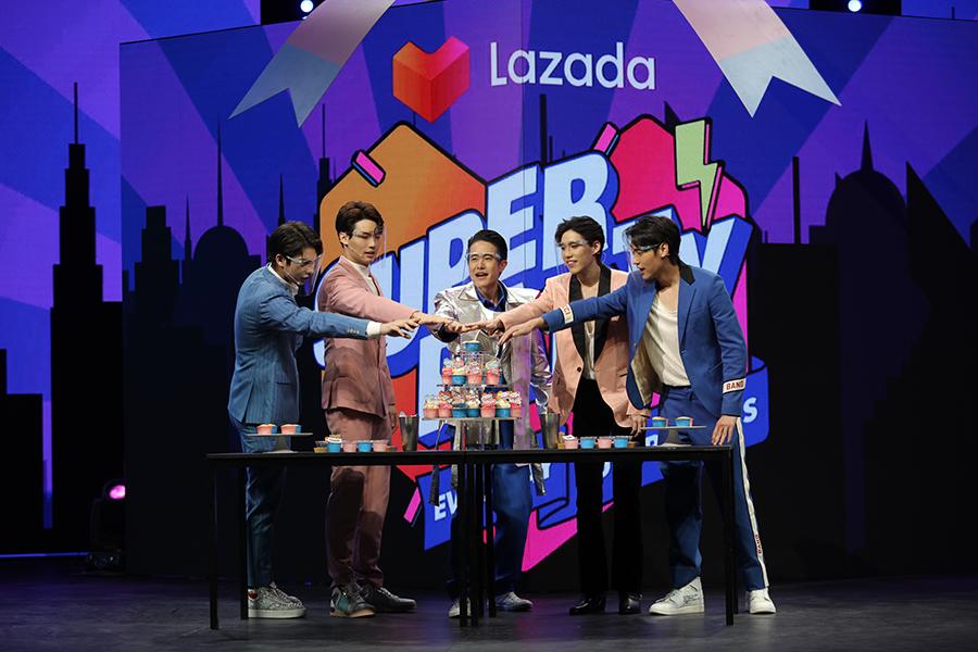 ไบร์ทวิน บิวกิ้นพีพี Lazada Super Party 2 1