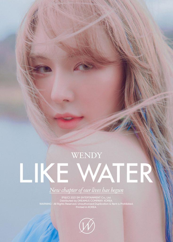 ภาพโปรโมต 1 WENDY โซโล่มินิอัลบั้มชุดแรก Like Water