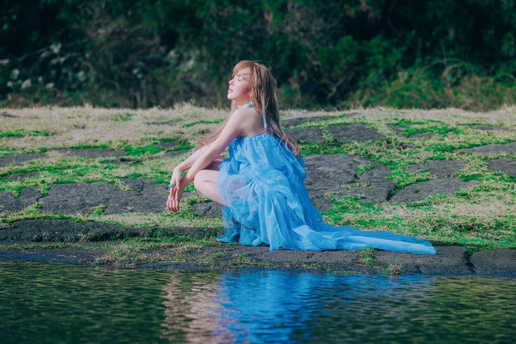 ภาพโปรโมต 5 WENDY โซโล่มินิอัลบั้มชุดแรก Like Water