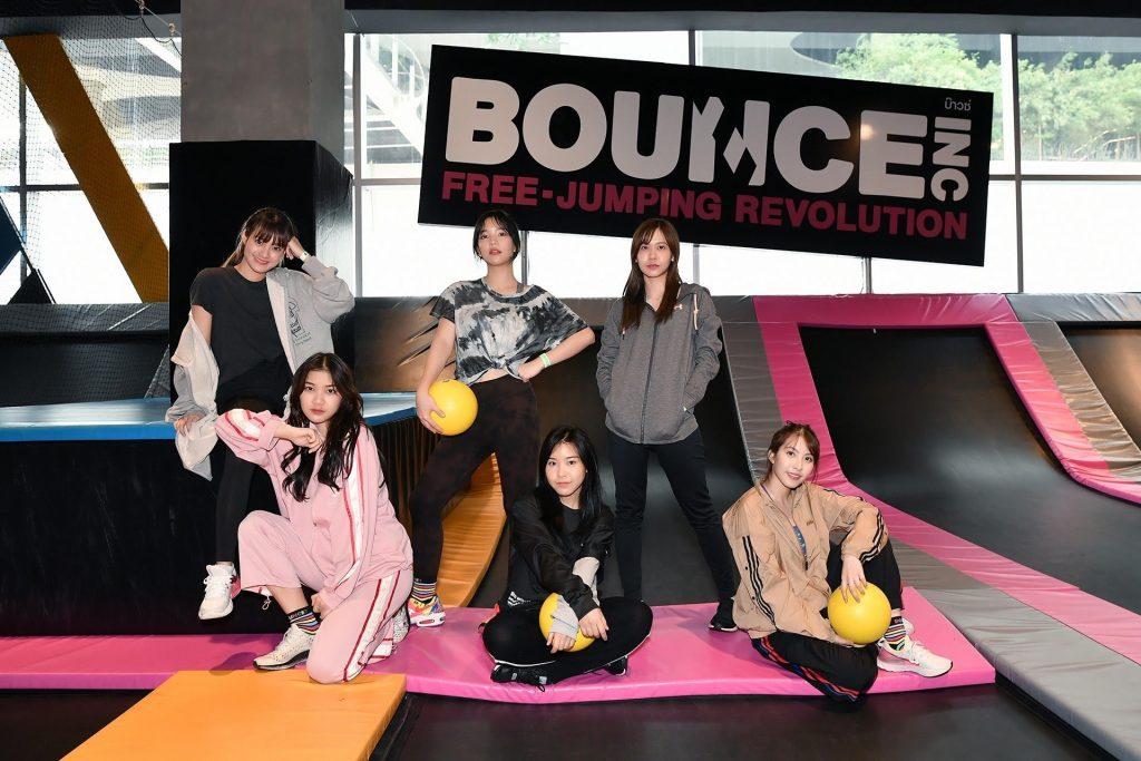 สนุกสนานกับ Bounce Thailand