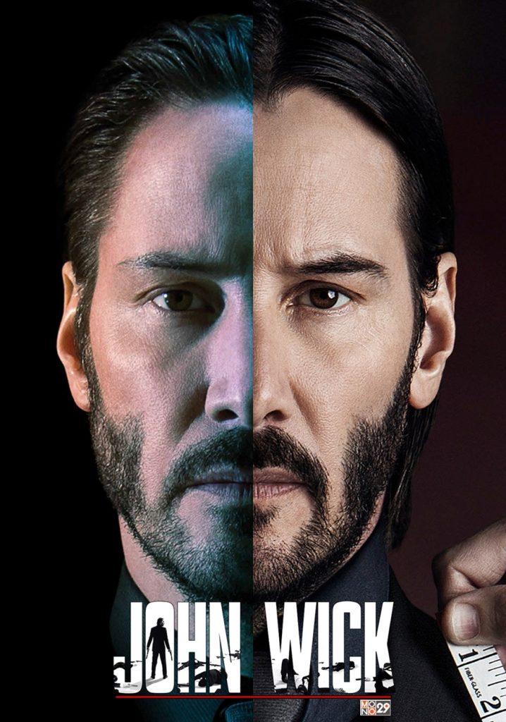 John Wick 1 2 Poster