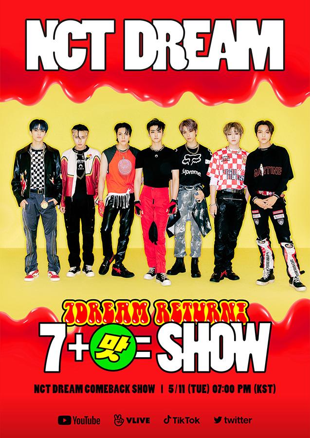 ภาพโปสเตอร์ NCT DREAM COMEBACK SHOW '7DREAM RETURN 7맛SHOW