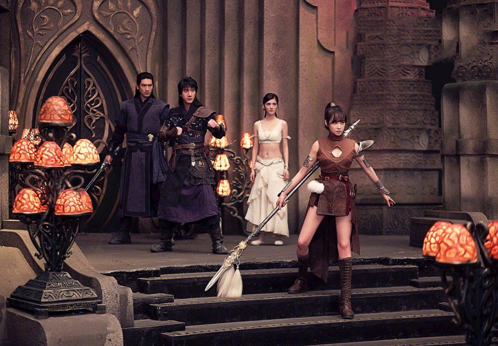 1.ภาพยนตร์ Legend of the Ancient Sword อภินิหารแหวนครองพิภพสยบฟ้า