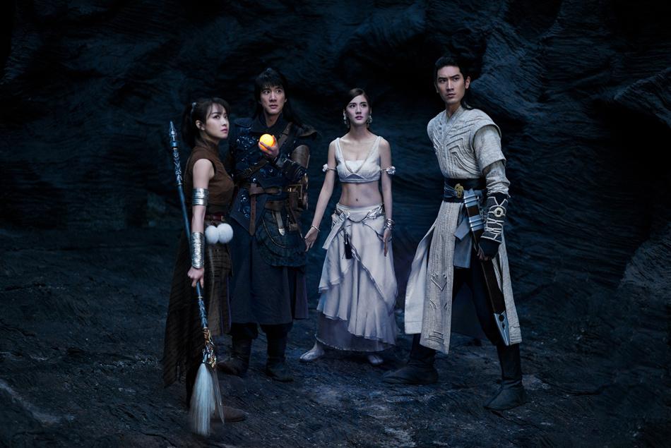 8.ภาพยนตร์ Legend of the Ancient Sword อภินิหารแหวนครองพิภพสยบฟ้า