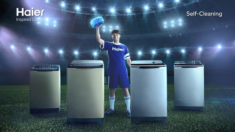 005 บอย ปกรณ์ในโฆษณาชุดใหม่ Haier Self Cleaning แชมป์ตัวจริงเรื่องความสะอาด 1