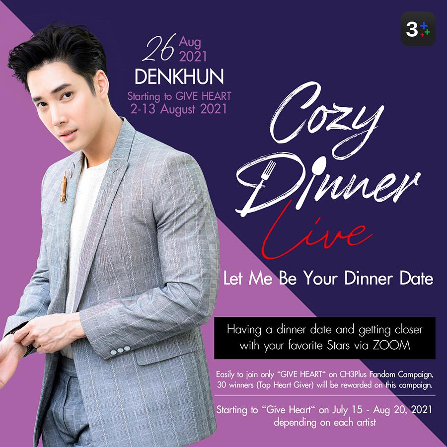 AW Cozy Dinner Live Denkhun