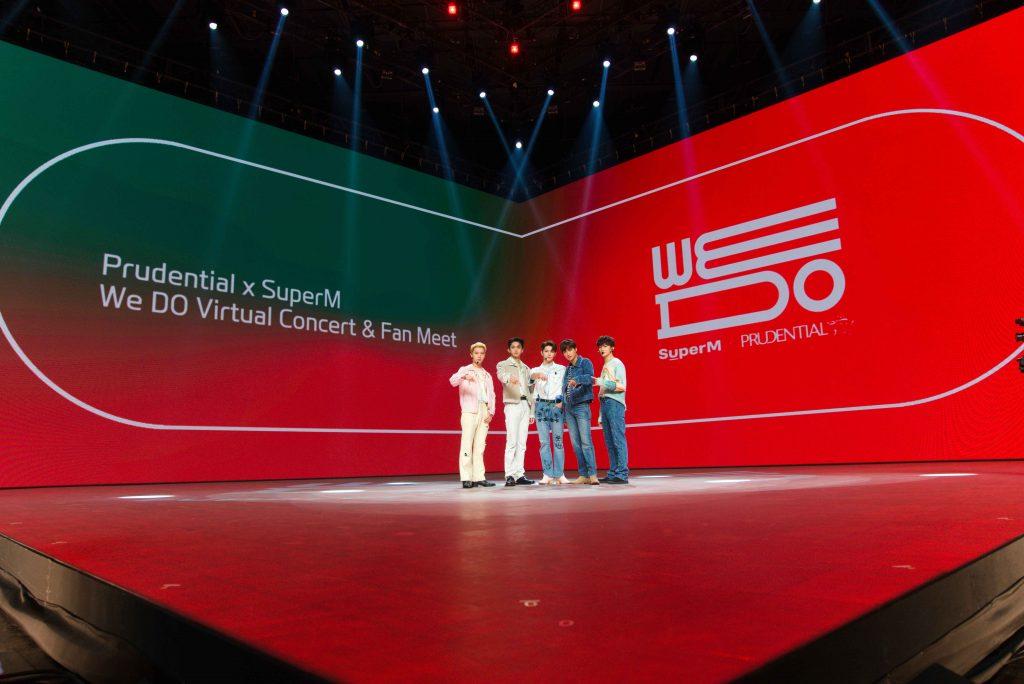 ภาพที่ 1 Prudential x SuperM We DO Virtual Concert Fan Meet