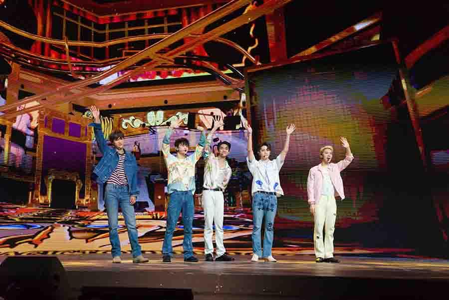 ภาพที่ 12 Prudential x SuperM We DO Virtual Concert Fan Meet 1