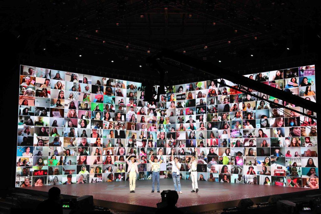 ภาพที่ 8 Prudential x SuperM We DO Virtual Concert Fan Meet