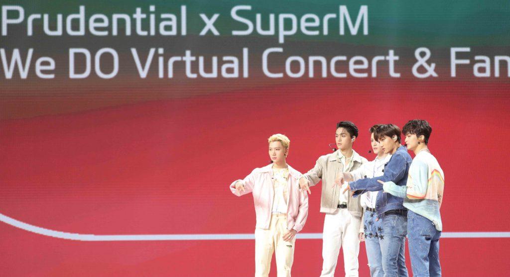ภาพที่ 9 Prudential x SuperM We DO Virtual Concert Fan Meet