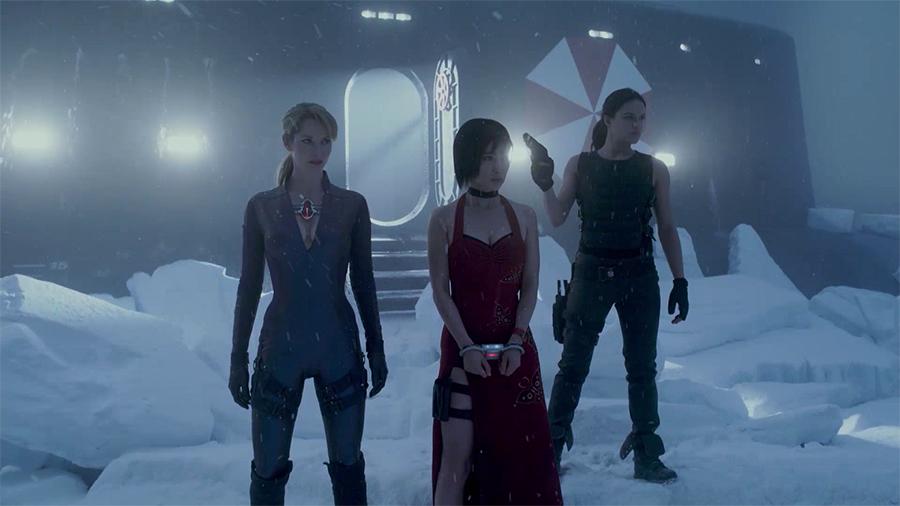 10.ภาพยนตร์ Resident Evil Retribution ผีชีวะ 5 สงครามไวรัสล้างนรก