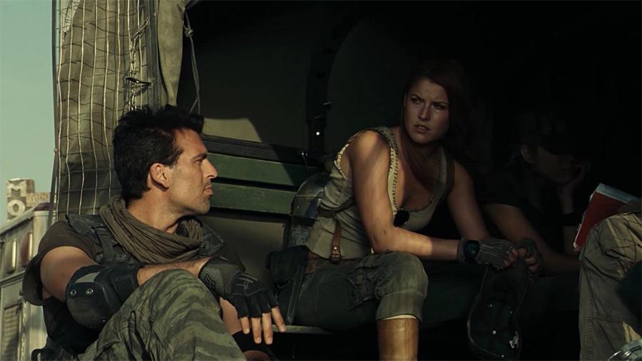 11.ภาพยนตร์ Resident Evil Extinction ผีชีวะ 3 สงครามสูญพันธ์ไวรัส