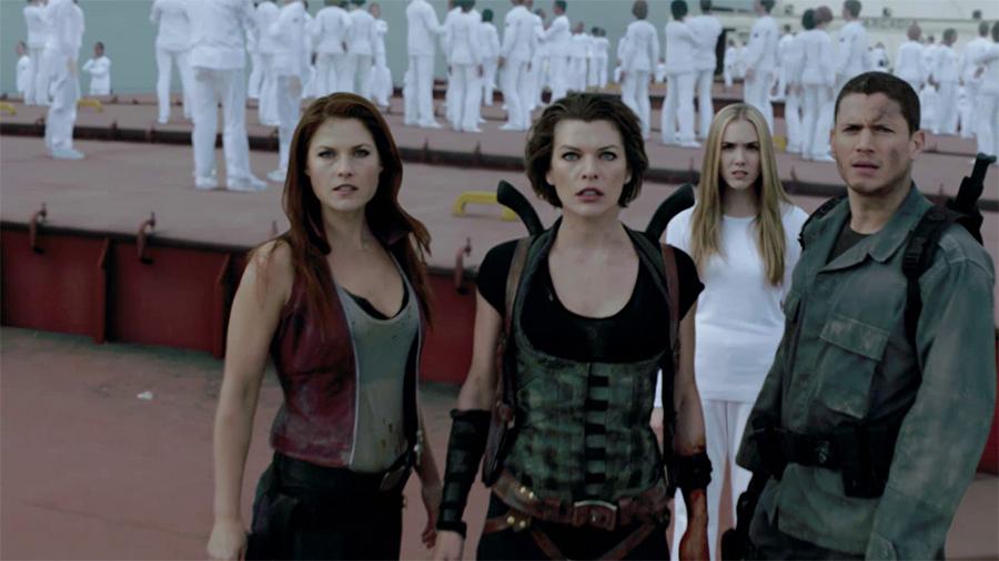 2.ภาพยนตร์ Resident Evil 4 After Life 3D ผีชีวะ 4 สงครามแตกพันธุ์ไวรัส